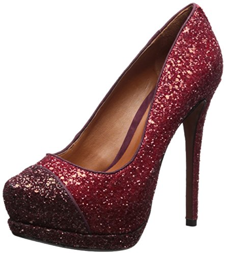 Schutz Women's Fernanda Pump Rouge/Dark Wine V0GX5cYE