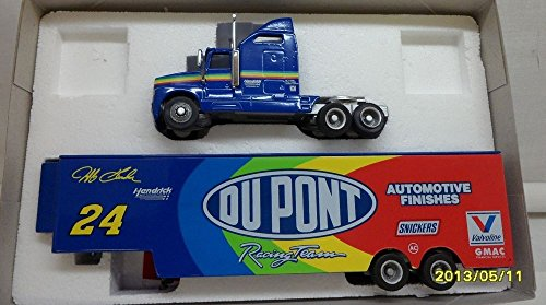 RCCA Racing Collectibles 1994 1:64 Scale 1 of 5,016 Made Jeff Gordon Dupont Transporter DIE-CAST (Each HAS ITS OWN Number)