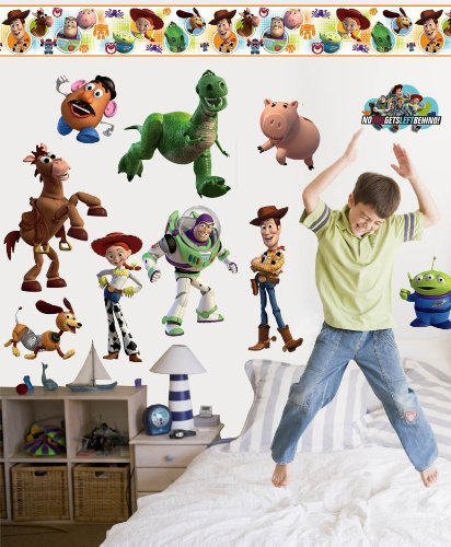 """Disney """"Toy Story 3"""" Room Makeover Wall Decal Kit"""