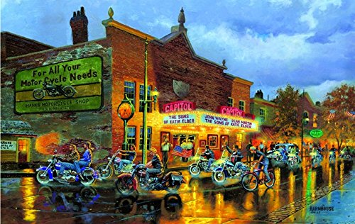 American Classics 550 Piece Jigsaw Puzzle by SunsOut