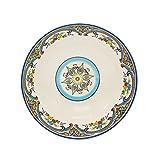 Euro Ceramica Zanzibar Serving Bowl, Multicolor