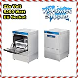 Special Product Commercial Kitchen Equipment Restaurant Cafe Underbar Undercounter Glass Washer 220V 5200W