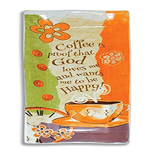 Divinity Boutique Coffee Ceramic Spoon Rest, Multicolor