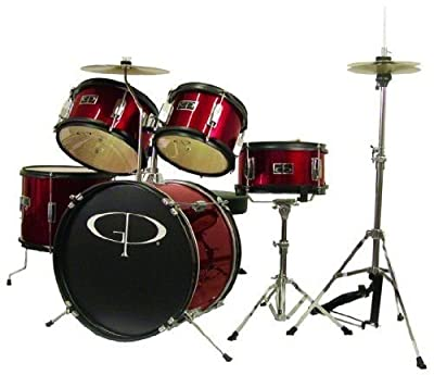 GP Percussion GP55WR 5-Piece Junior Drum Set