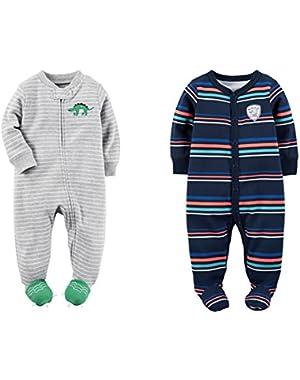 Carter's Baby Boy Sleep Play Footed Sleeper Pajamas Set of 2