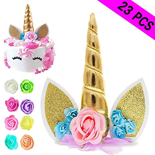 Unicorn Cake Topper Reusable