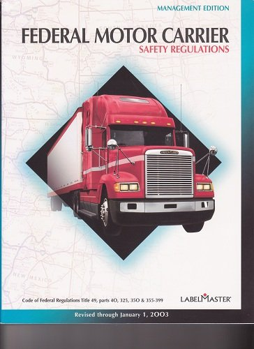 Sam 39 s miracle books on marketplace for Federal motor carrier safety regulations