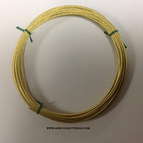 Herschede Grandfather Clock Cable 25 Feet Brass