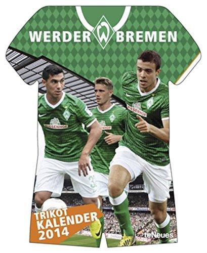 Werder Bremen Trikotkalender 2014