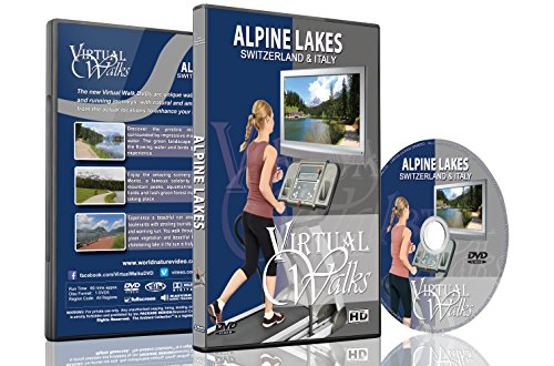 Virtual Walks - Alpine Lakes of Switzerland & Italy for Indoor Walking
