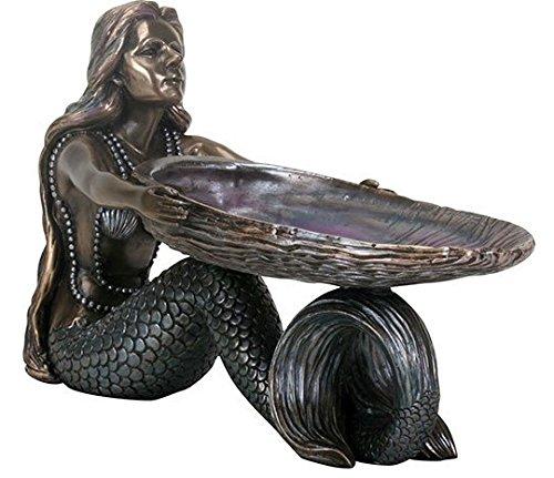 Abalone Box (Mermaid With Abalone Shell Bronze Figurine)