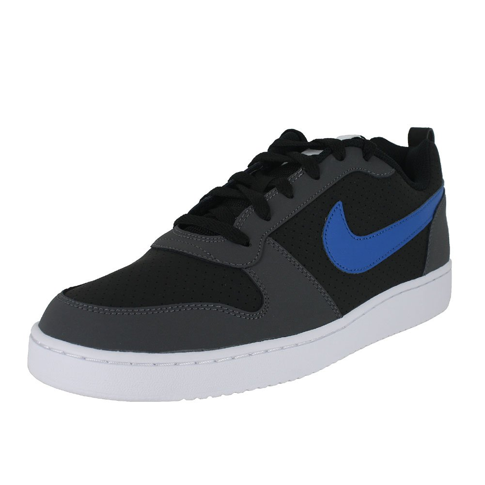 NIKE Men's Court Borough Low Basketball Shoe B07C4FTW2F 11  M US|Black Blue Nebula Drk Gray Wht
