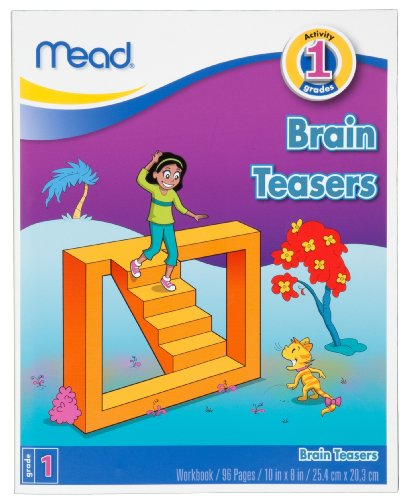 Mead Brain Teaser Books, Grade 1 (48060)