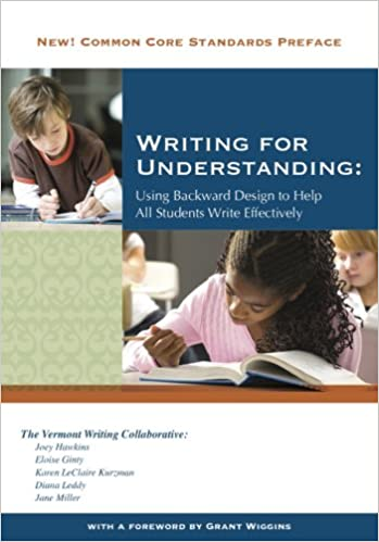 Writing for understanding