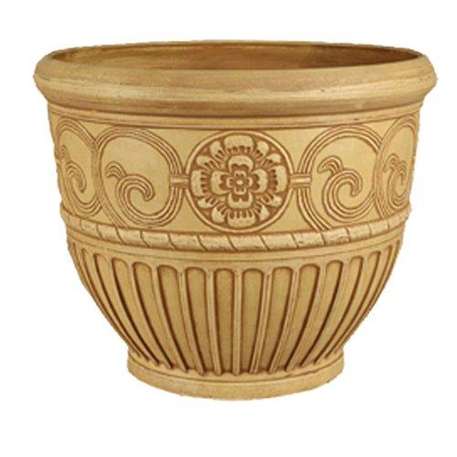 Arcadia PSW OB81BB Roman Bell Pot, 22 by 16-Inch, Beige by PSW