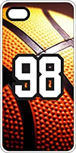 Basketball Sports Fan Player Number 96 White Plastic Decorative iPhone 6 PLUS Case