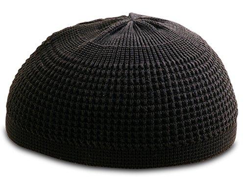 Solid-Colored-Elastic-Skull-Cap-Kufi-Hats