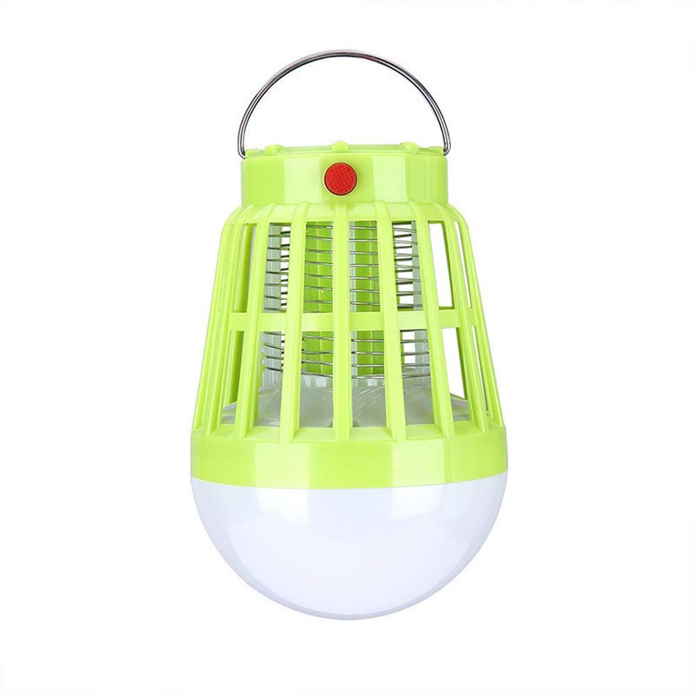 Batteria Solare ad Alta efficienza Mosquito Killer Lampada AC 110V  200V Tre Ingranaggi Luce 8 LED UV Luce per Interni & Outdoor,Lightverde