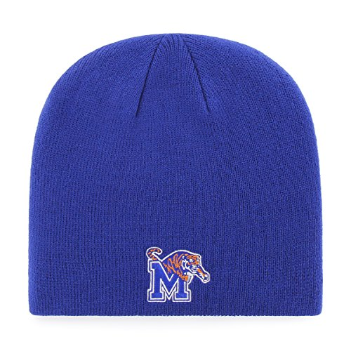 OTS NCAA Memphis Tigers Beanie Knit Cap, Royal, One Size ()