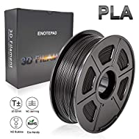 3D Printer Filament PLA, 1.75mm PLA Filament 1kg Spool, Dimensional Accuracy +/- 0.02mm, Enotepad PLA Filament for Most 3D Printer from Enotepad