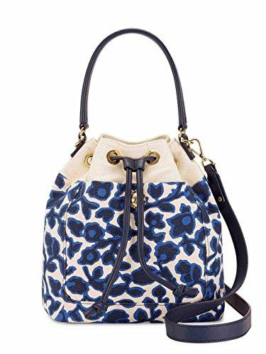 Draper James Women's Printed Vidalia Orleans Bucket Bag