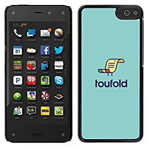 LECELL--Funda protectora / Cubierta / Piel For Amazon Fire Phone -- loufold --