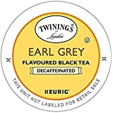 Twinings Earl Grey Decaf Tea 48-Count K-Cups for Keurig Brewers