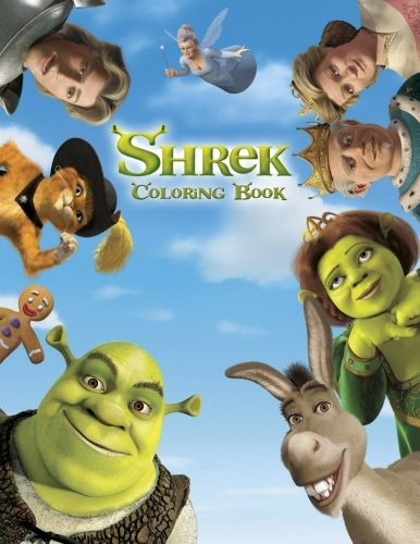 Shrek Coloring Book: Coloring Book for Kids and Adults, Activity Book, Great Starter Book for Children (Coloring Book for Adults Relaxation and for Kids Ages -