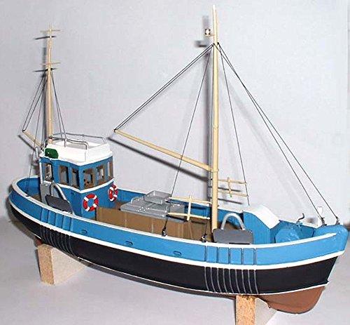 (Langley Models 45ft Fishing Trawler Boat/Ship O Scale UNPAINTED kit OM1)