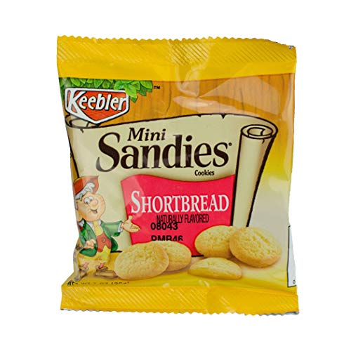 Keebler Sandies Mini Pecan Shortbread Cookie, 1 Ounce -- 100 per case.