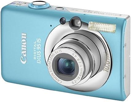 Canon Digital Ixus 95 Is Digitalkamera 2 5 Zoll Blau Kamera