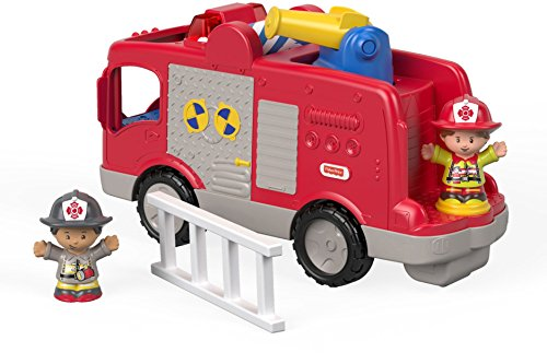 Fisher-Price Little People - Truck Fire Toy Story