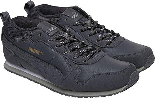 0988d5fe3ac3d6 Puma Men s ST Runner Demi Twill IDP Asphalt-Drizzle Running Shoes - 9 UK