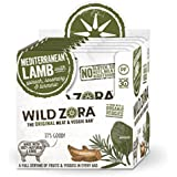Wild Zora - (10 pack) Mediterranean Pasture-Raised Lamb & Organic Veggie Bars AIP-friendly, No Nightshades, Gluten-Free, No Antibiotics, No Added Hormones