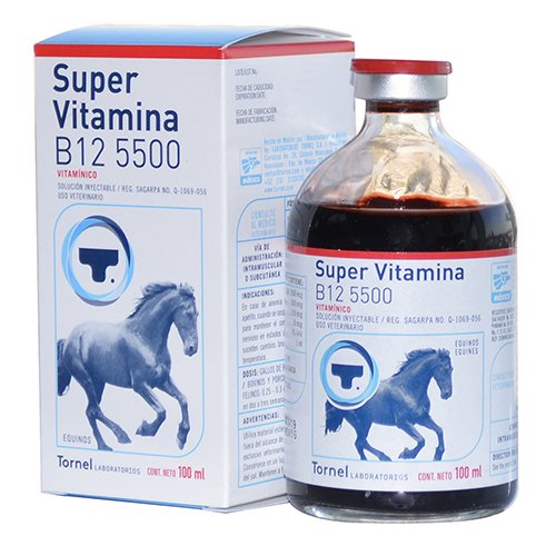 Image of Tornel Super Vitamina B12 5500 100ml Horse/Caballo