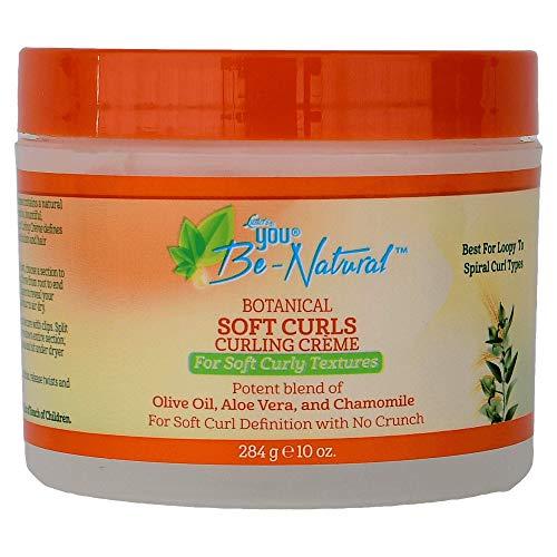 Luster's You Be-Natural Botanical Soft Curls Curling Crème
