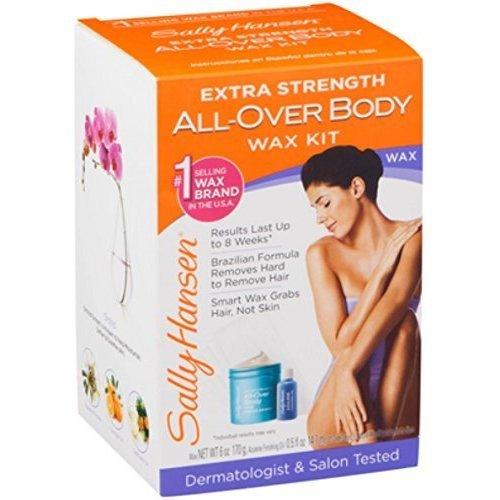 Sally Hansen Extra Strength All-Over Body Wax Hair Removal Kit 1 ea by Sally Hansen