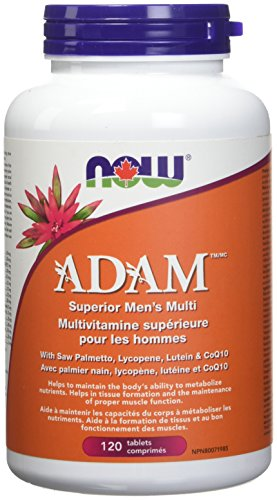 NOW FOODS Adam Men s Multi 2 Day 120Tab, 120 CT