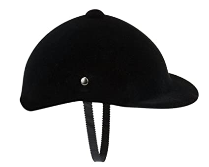 314df9290d5 Sophia s 18 Inch Doll Hat Accessories Traditional Black Velvet English  Style Riding Helmet with Strap Perfect