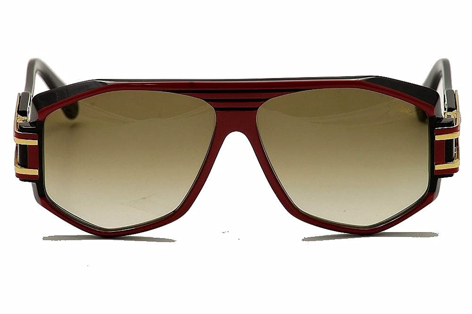 Sonnenbrillen Sunglasses Cazal Vintage 163 /3 200 Red Black Gold 100% Authentic made in Germany wh54woh6