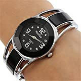 Wensltd Clearance Sale! Womens Alloy Band Dress Bracelet Wrist Watch