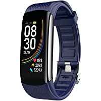 XD7 C6T Temperatuur Meting Armband Horloge Bloeddruk Hartslag Informatie Pulse Slaap Oefening Stappenteller Smart…