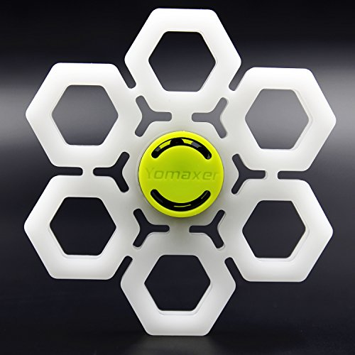 Yomaxer Snowflake Spinning Fidget Toy Ceramic Bearing Stress Reducer for ADHD ADD EDC Autisms
