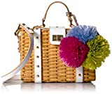 Image of MILLY Wicker Small Satchel