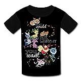 Mtui10 Custom Kids Pocket-Eevee Dilly Tee Shirt T-Shirts for Children Boys Girls M