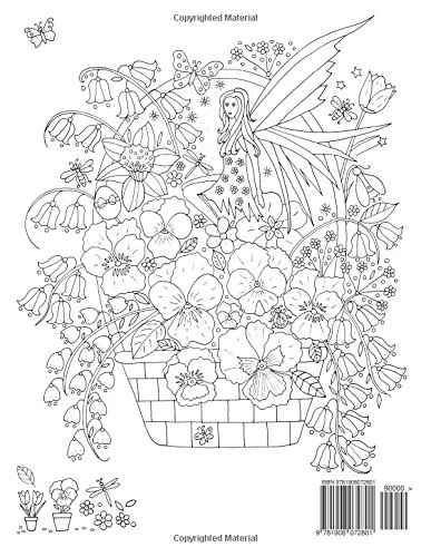Faerie Garden Spring: Colouring Book: De-ann Black: 9781908072801 ...