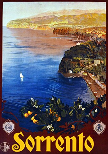 Sorrento, Italy Vintage Poster Reproduction