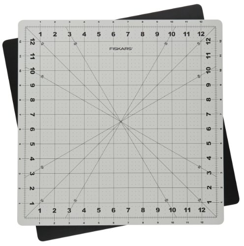 Fiskars 14×14 Inch Self Healing Rotating Cutting Mat