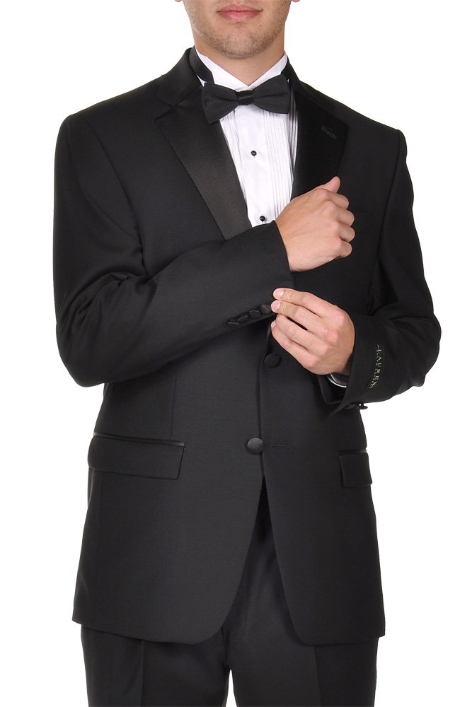 Ralph Lauren SuperFine Wool Two Button Elegant Modern Fit Tuxedo (43 Long) by RALPH LAUREN (Image #1)