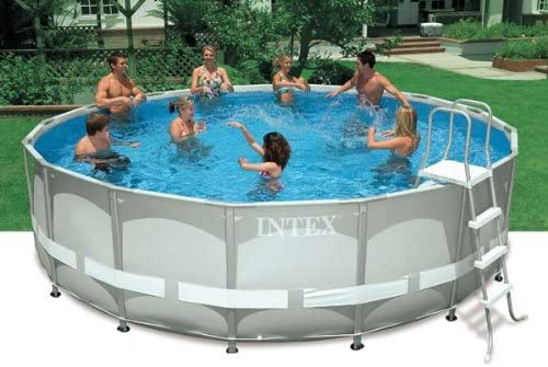Intex Piscina de suelo 16 ft x 48 en Ultra Frame Set: Amazon.es ...
